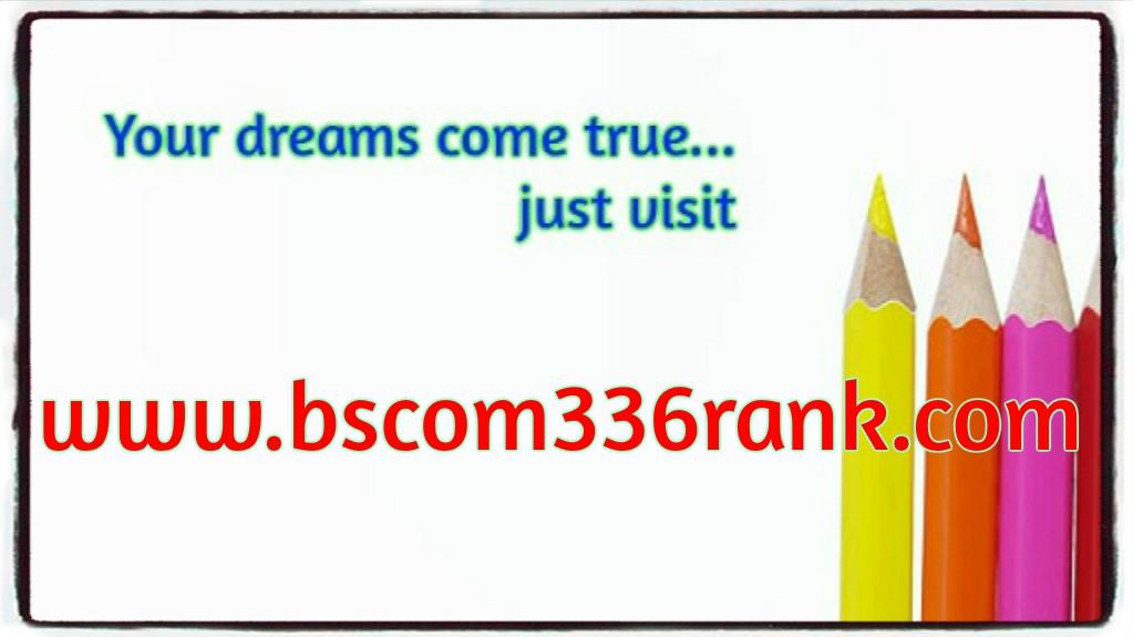 BSCOM 336 RANK Lifetime Success / bscom336rank com by c