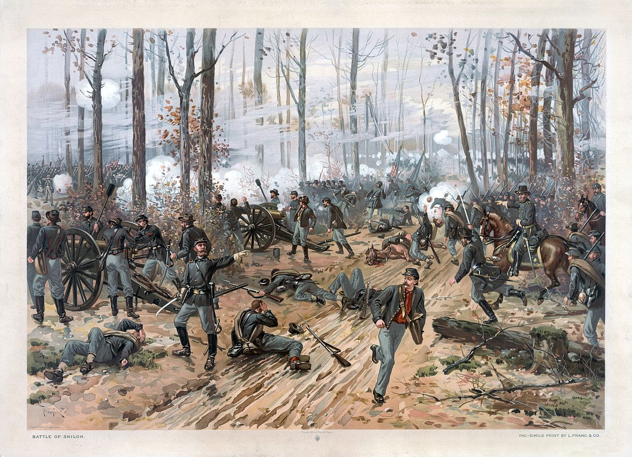 the events of the bloody battle of shiloh the south in north america in 1862 Shiloh: the battle that changed the civil the battle of shiloh, fought in april 1862 in the booster for the north daniel's study of the battle's.