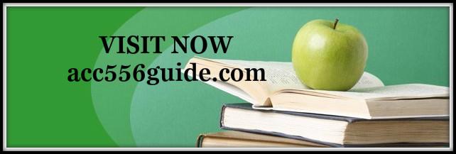 ACC 556 guide peer educator acc556