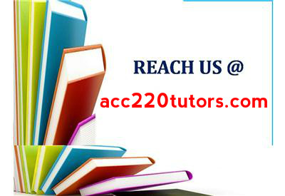 acc 220 entire course All students must complete an orientation quiz for each distance course by the   acc 220 - intermediate accounting  acc 269 - audit and assurance services.