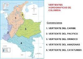 la hidrografia de colombia