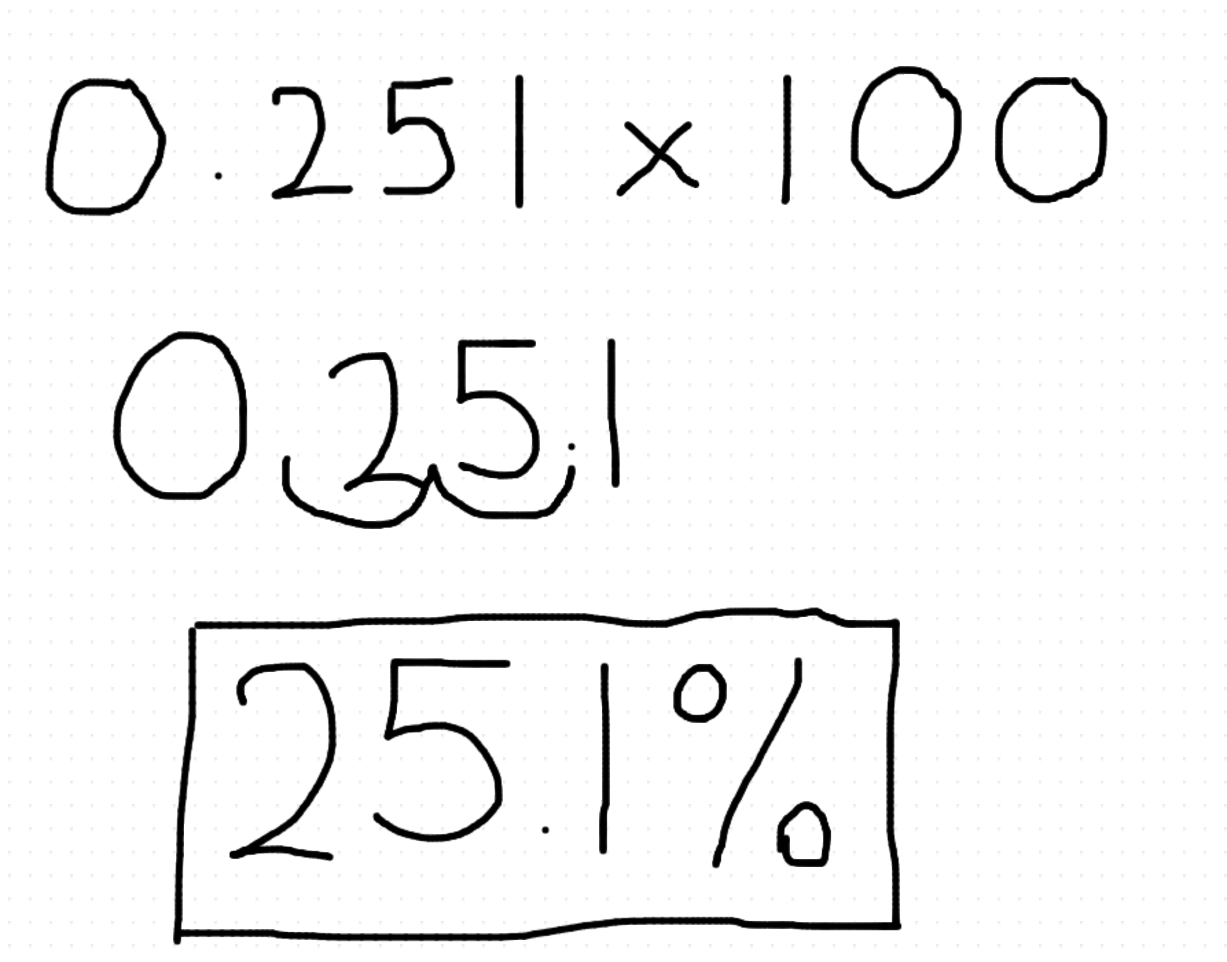 How To Find Fractions Of A Number To Convert A Decimal Into A Percentage  You Multiply Your Decimal By A 100 The Easiest