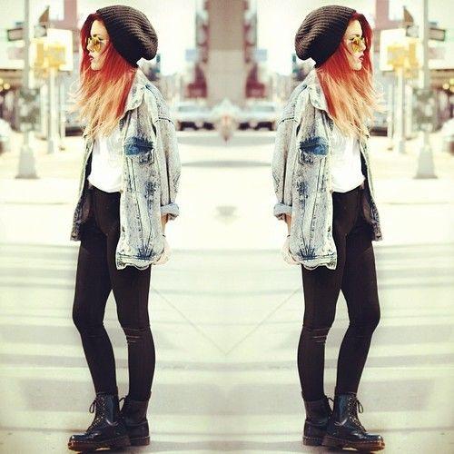 Außergewöhnlich Indie Rock Fashion Girls &ZD_34