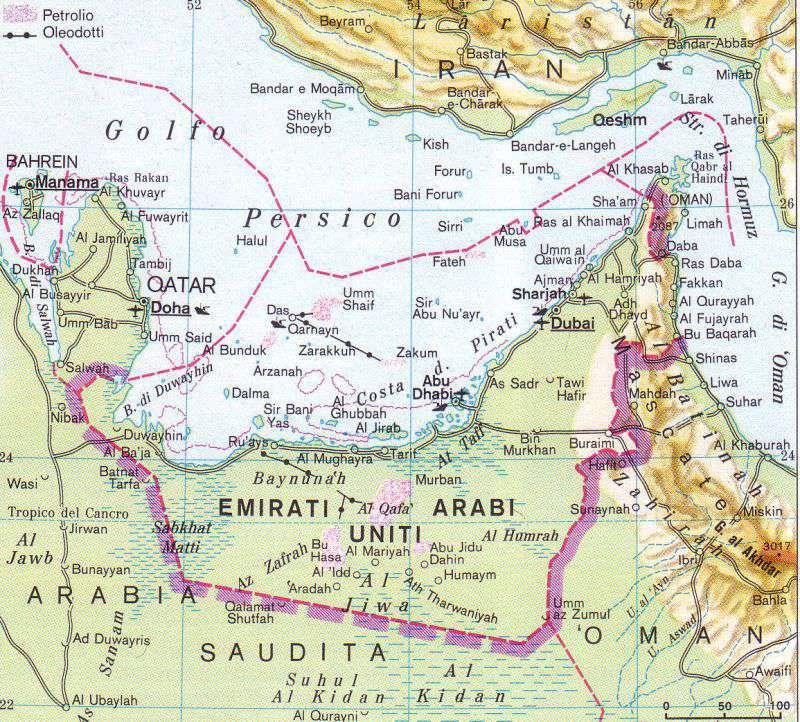 Dubai Emirati Arabi Cartina Geografica.Emirati Arabi Uniti By Fgiulia03 On Emaze