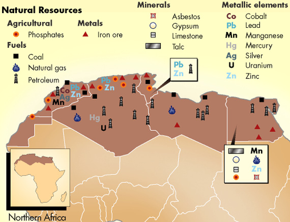Welcome To LuxorEgypt - Natural resources in egypt