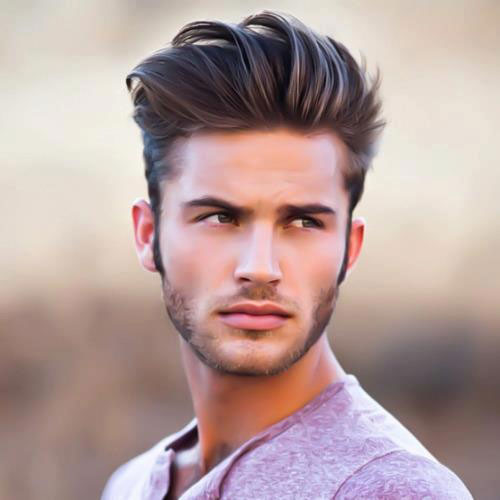 Magnificent Come Over Hairstyle For Boys Come Get Free Printable Hairstyle Hairstyles For Women Draintrainus