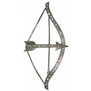 Apollo Silver Bow And Arrow Symbol