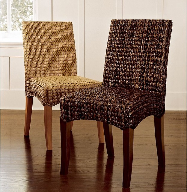 woven leather dining room chairs  decor, Home designs