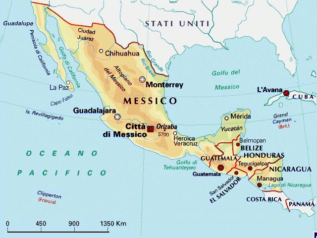 Cartina Geografica Politica Del Messico.Messico By Beatrice Orlando On Emaze