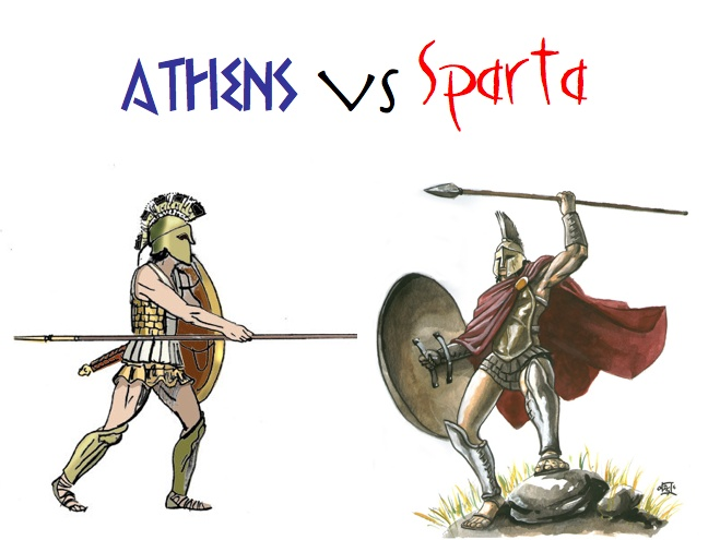a comparison of the women in sparta and athens