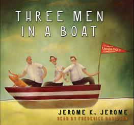 three men in a boat character sketch
