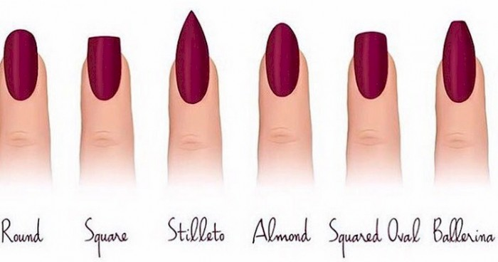 Names Of Different Nail Shapes | Best Nail Designs 2018