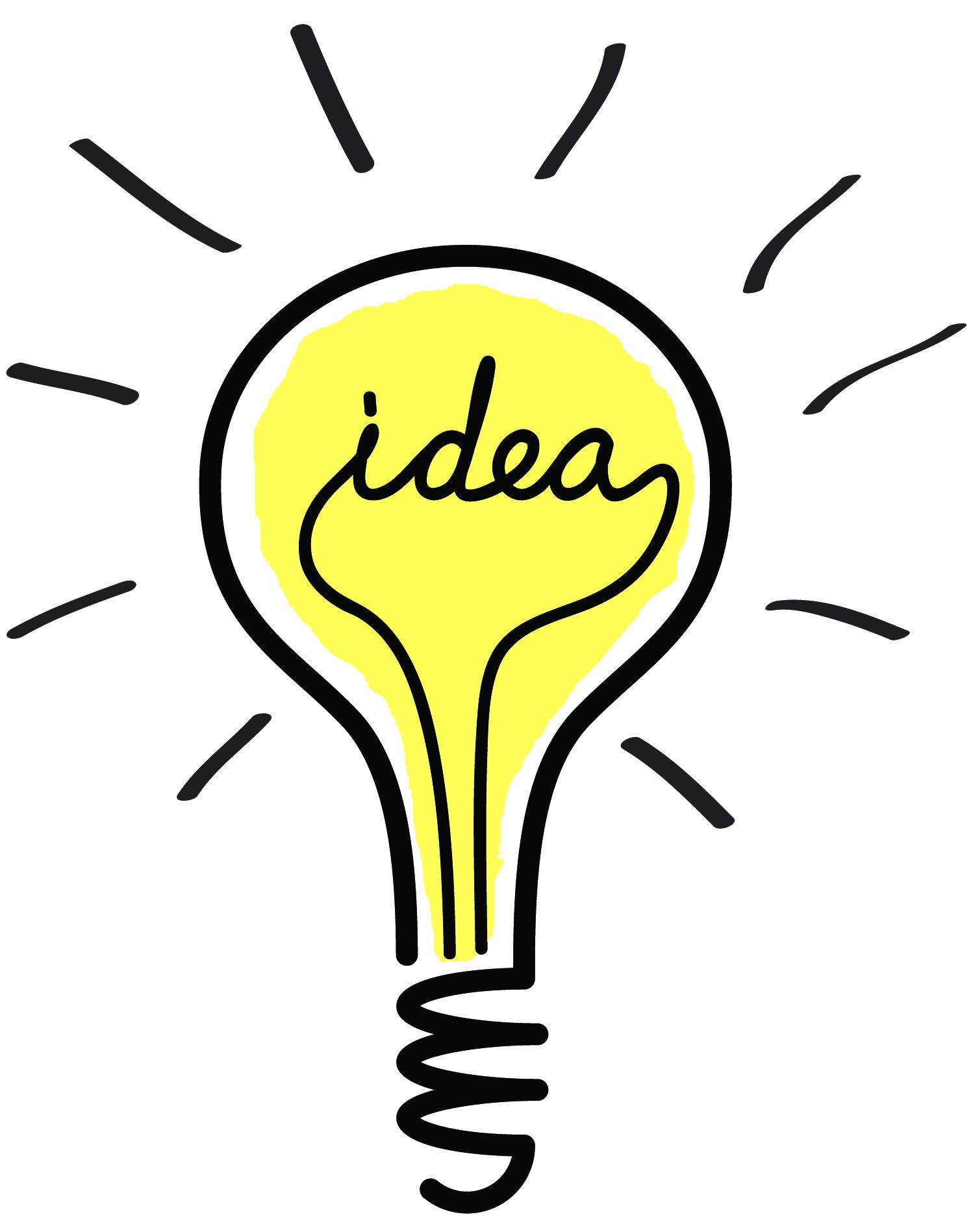 Идея картинки лампочки