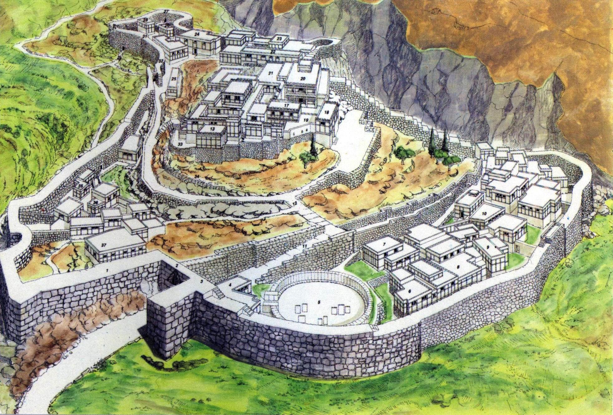 The Mycenae Citadel