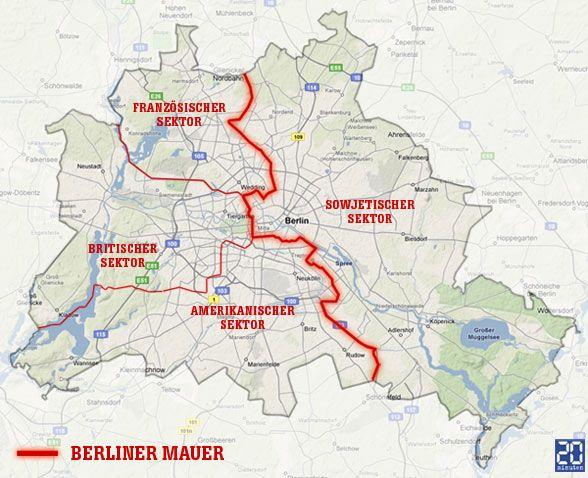 mauerverlauf berlin karte Karte Mauerverlauf Berlin | goudenelftal mauerverlauf berlin karte