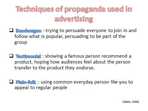 Mcdonalds Bandwagon Ads Propaganda vs Persuasi...