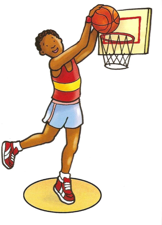 Картинка для детей баскетбол