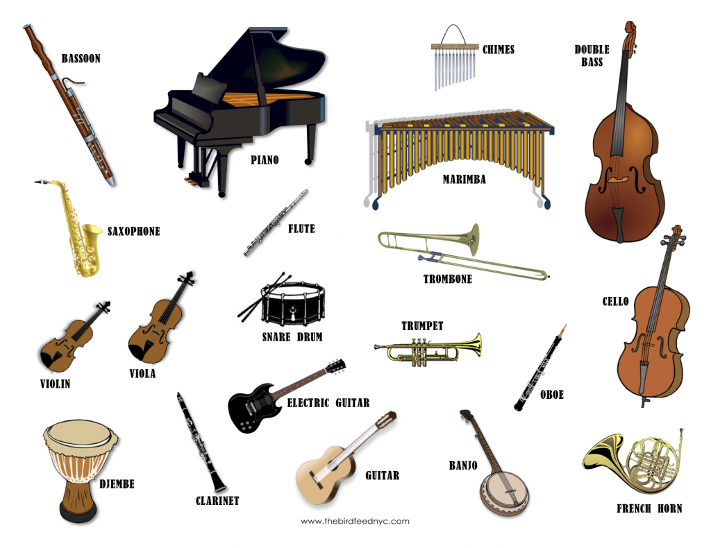 Worksheets Types Of Musical Instrument presentation name on emaze