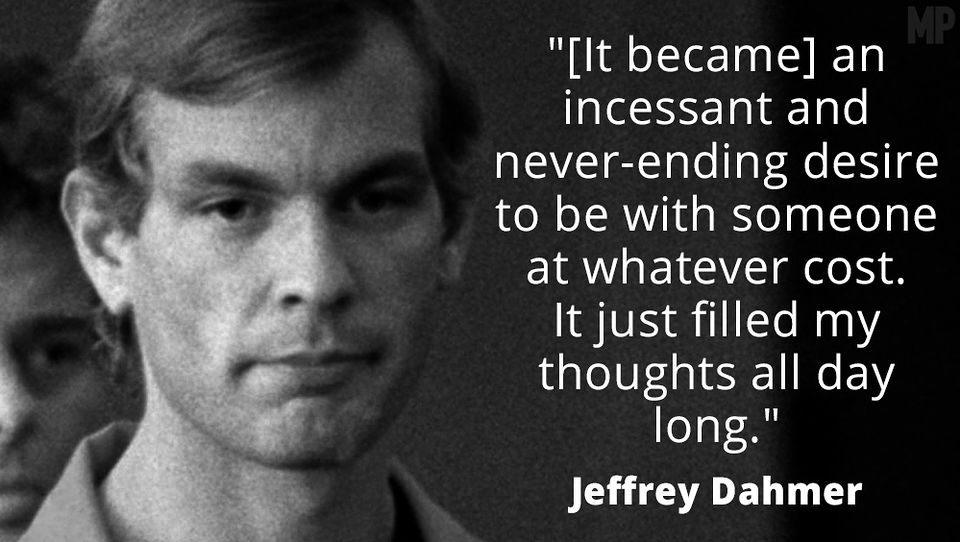 jeffrey dahmer serial killer profile Jeffrey dahmer would go on to become one of america's most notorious serial killers, raping, murdering and cannibalising 17 young men, and confessing to his crimes in 1991.