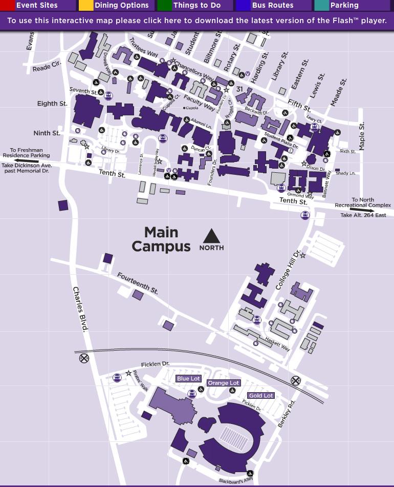 Ecu Campus Map Goletapublishing