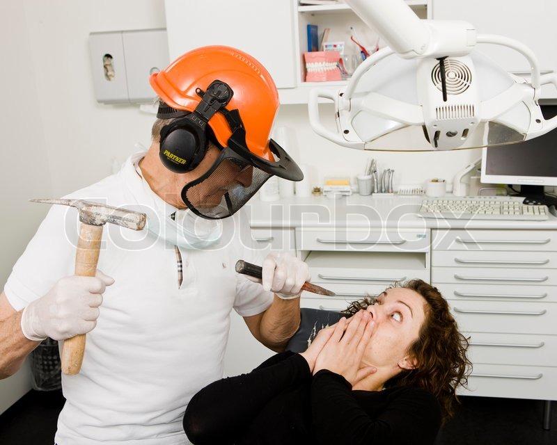 злой стоматолог фото ранним утром