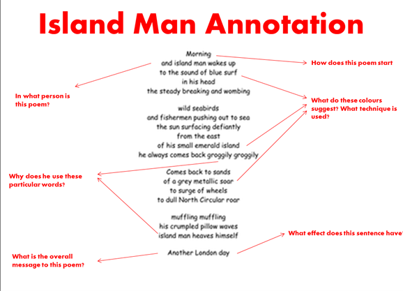 island man essay example When most people think of living on an island essays related to island life 1 dave is a middle aged business man who never took a day off in his life.