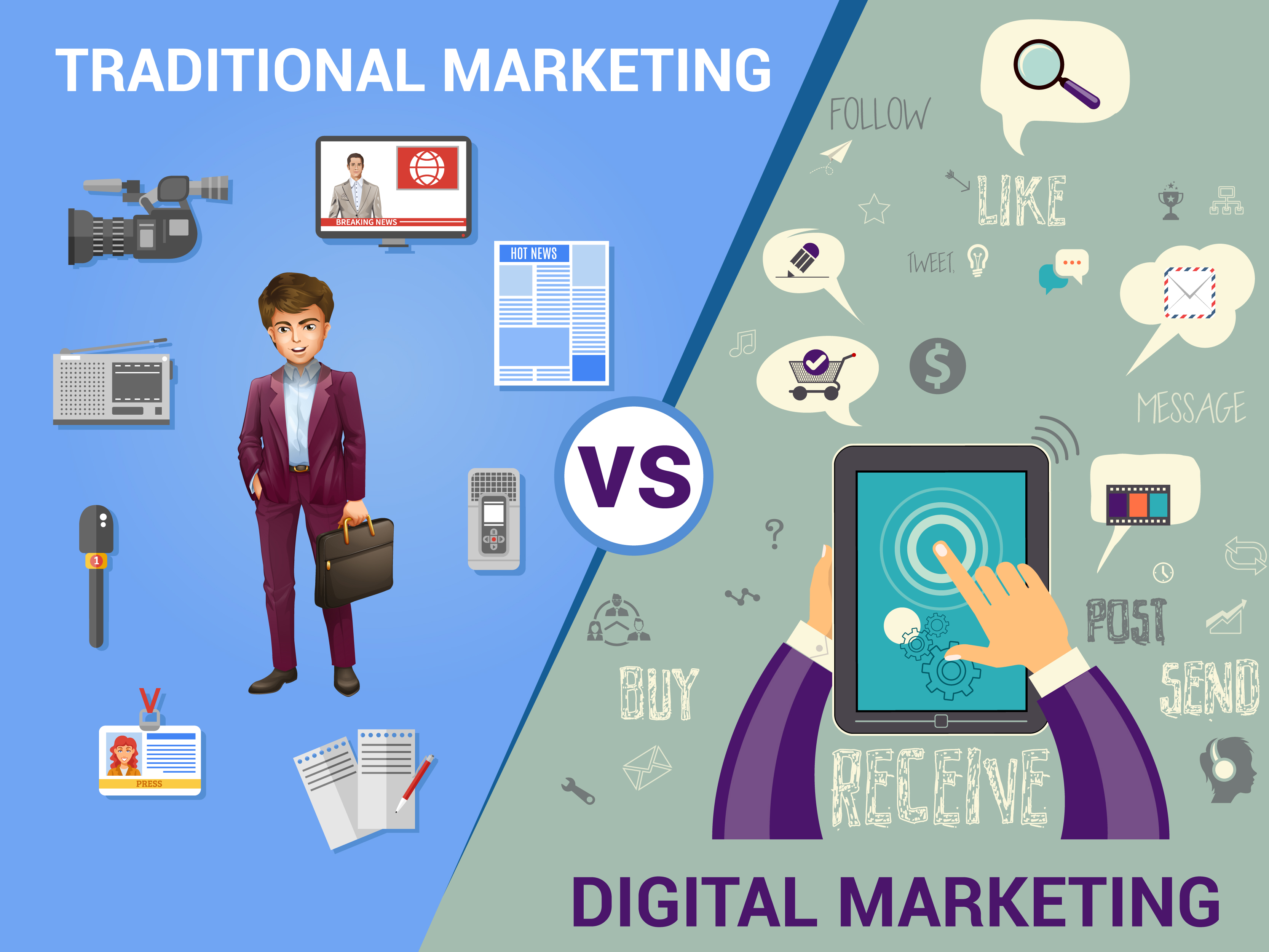 Digital marketing training on emaze for Digital marketing materials