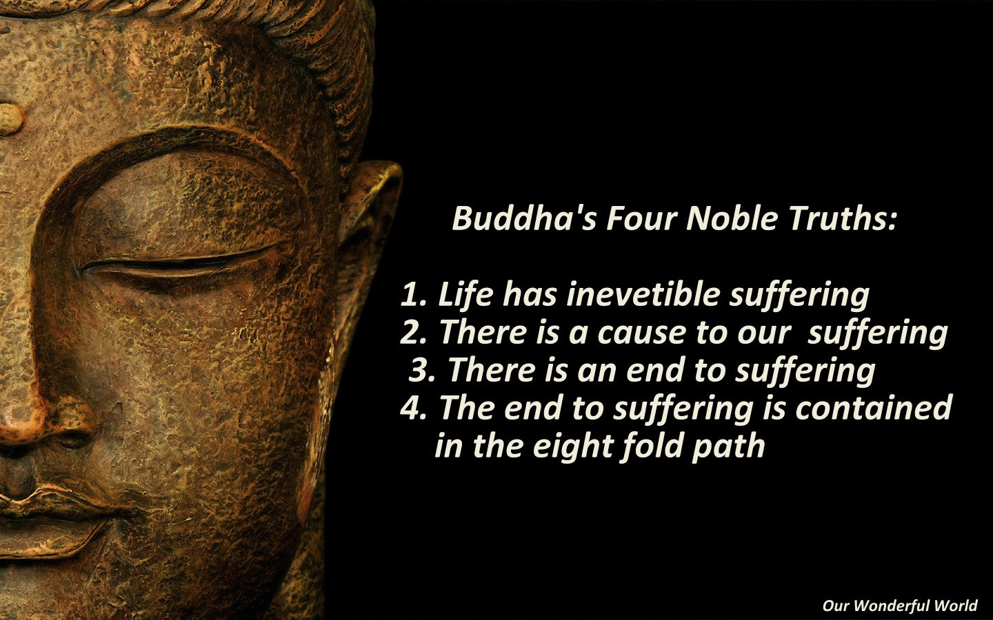 The 8 fold paths & the four nobel truths on emaze