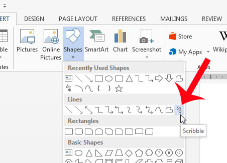 how to draw on a picture on word