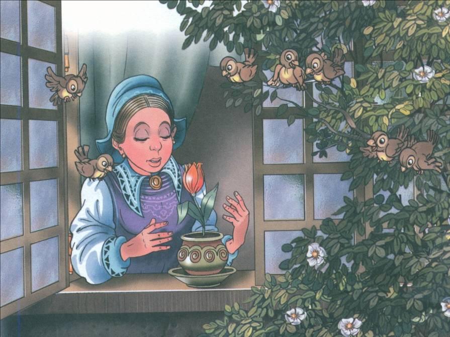 Картинка женщина дюймовочка