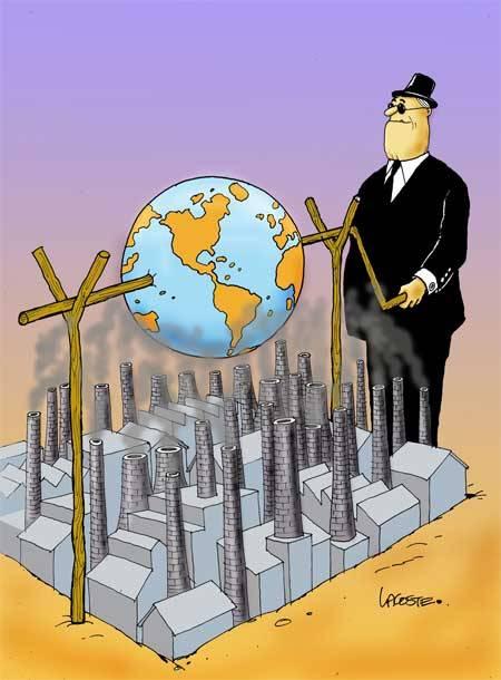 Resultado de imagen para calentamiento global, carton