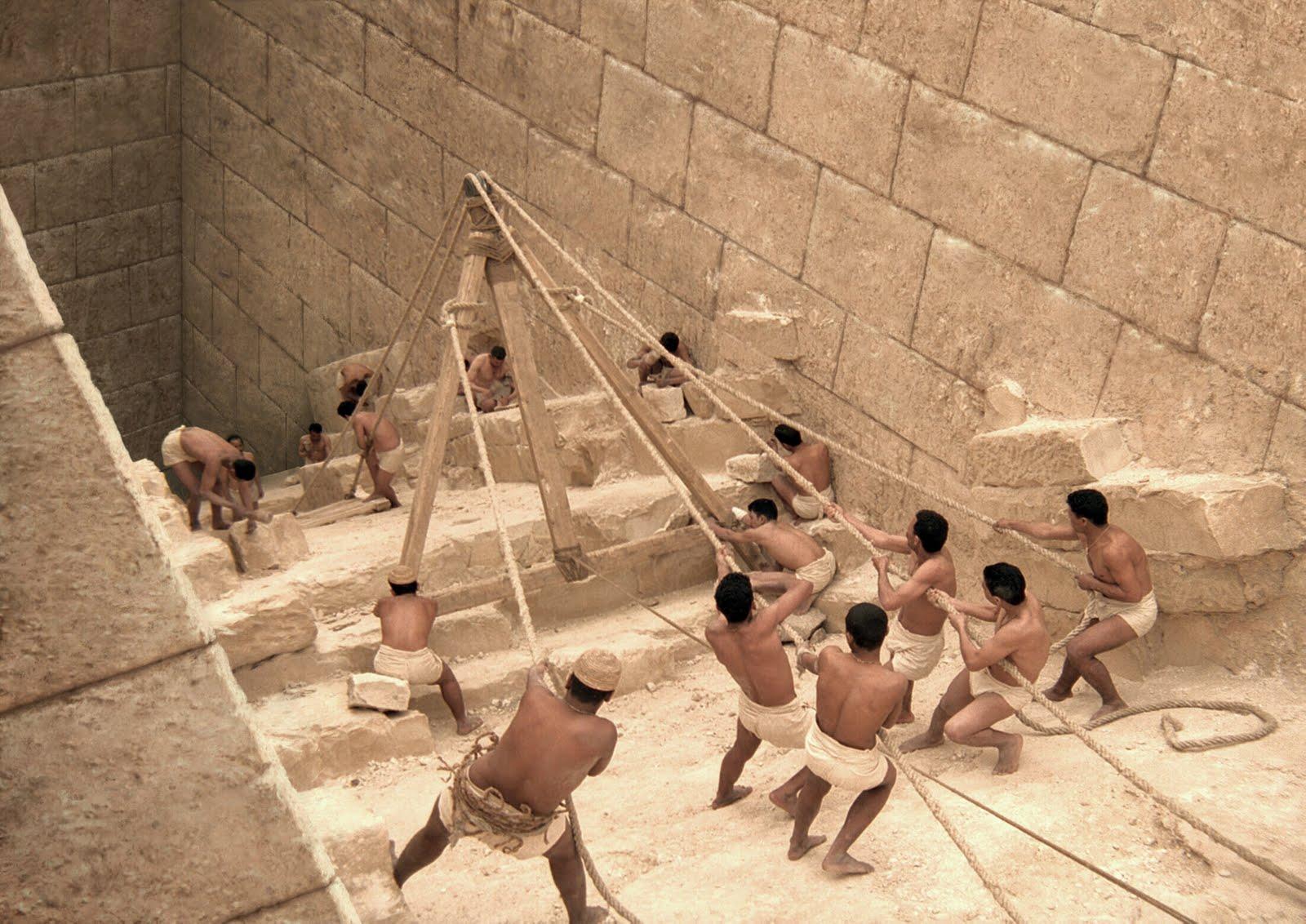 Las pirámides fueron hechas por hombres libres