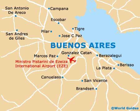 Argentina - Argentina misiones map