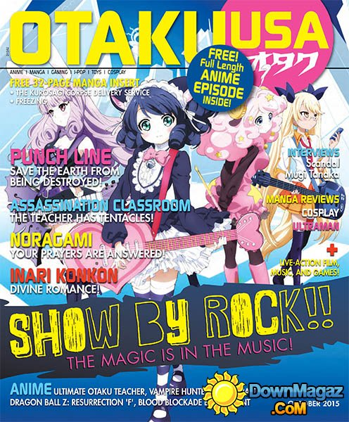 October 2015 Otaku USA Does Not Publish Any Magazines In September So I Used Another Magazine From To Replace It