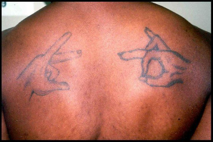 Bloods Tattoo Symbol Related Keywords And Tags