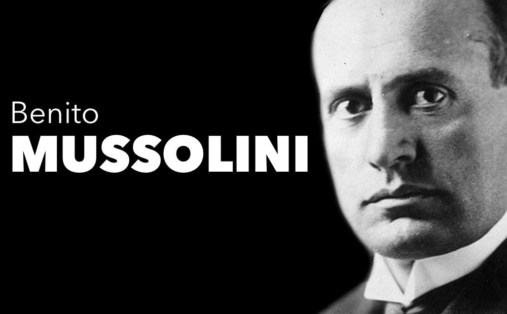a biography of benito mussolini the leader of the italian national fascist party Benito mussolini on 1917 as an italian soldier  mussolini was the leader of the  national fascist party, along with being the  early life[edit.