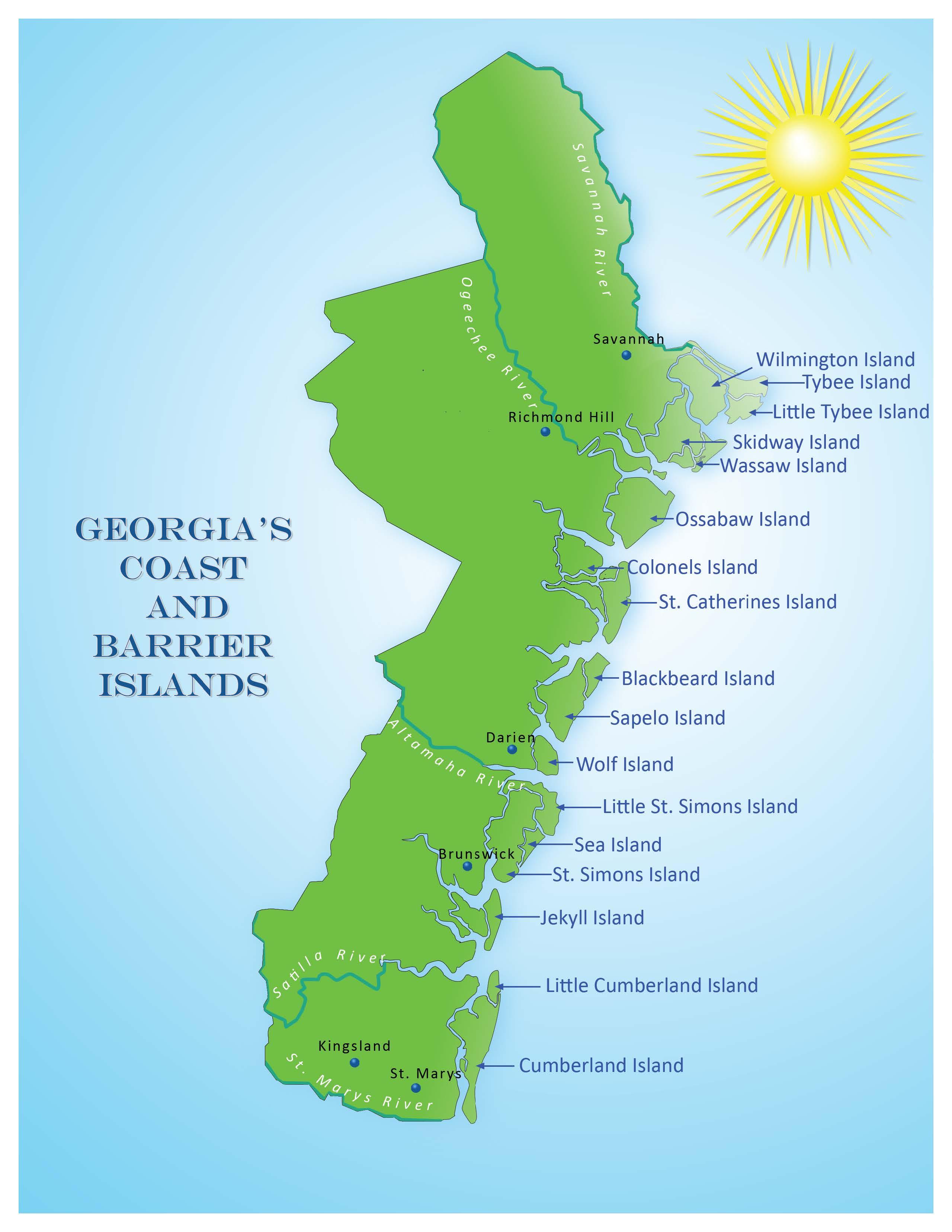 Georgia coast on emaze