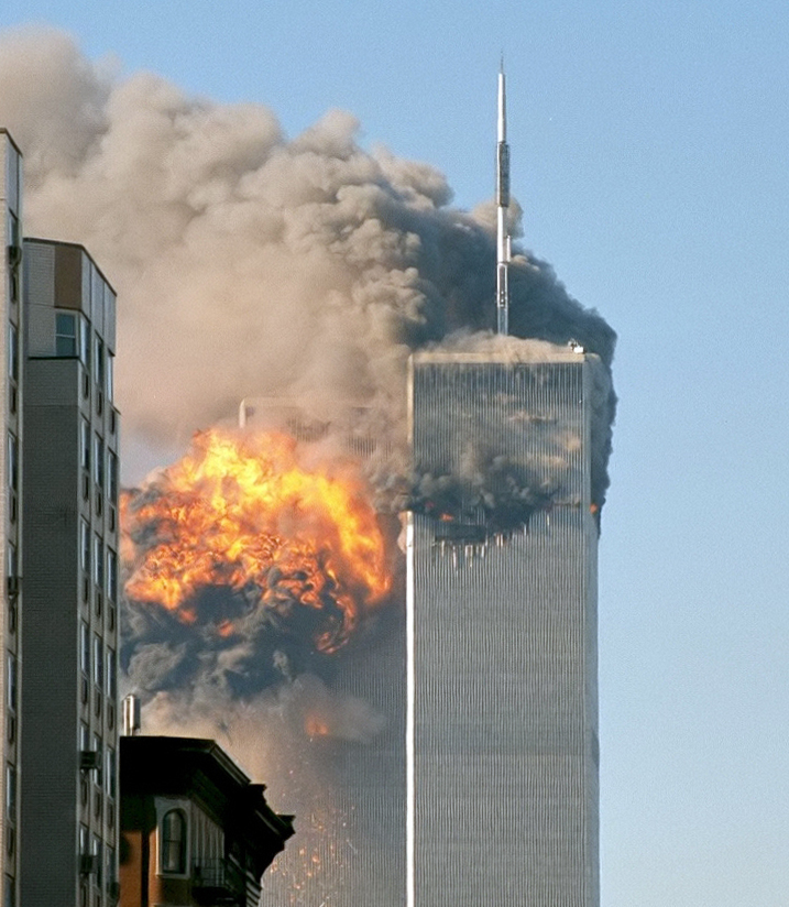 the attack on the two towers during the september of 2001 Twin towers aflame on september 11, 2001 while the twin towers were commercial skyscrapers—two of the tallest in the world the 9-11 photos - an attack on.