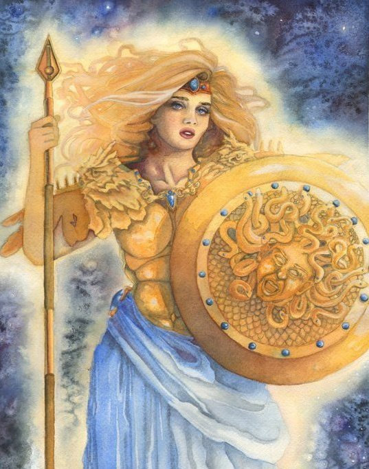 Why is athena a peacemaker?