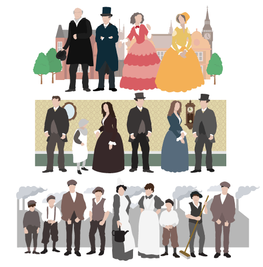 class system in victorian england