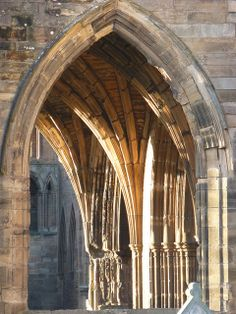 Fundamentals Of Gothic Architecture 1 The Pointed Arch