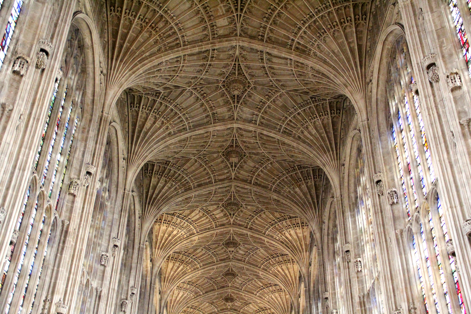 A Form Of Vault Used In The Gothic Style Which Ribs Are All Same Curve And Spaced Equidistantly Manner Resembling Fan