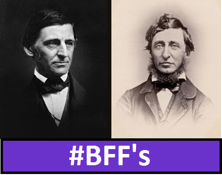 an introduction to the comparison of thoreau and emerson Start studying thoreau vs emerson learn vocabulary, terms, and more with flashcards, games, and other study tools.