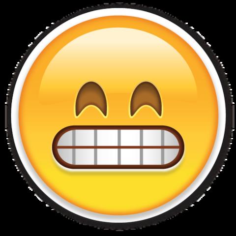 Resultado de imagen de emoji dudoso png