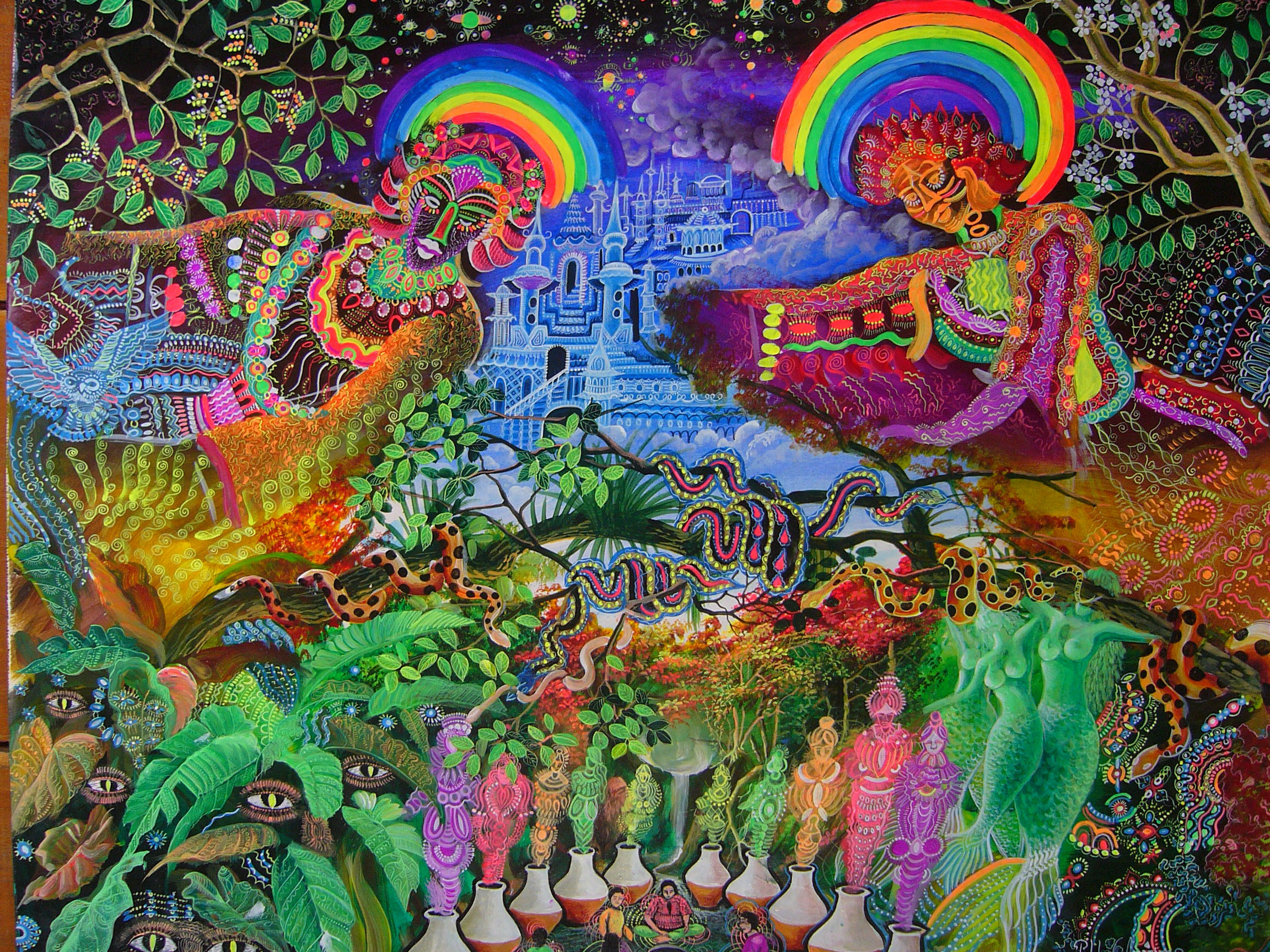 dmt and psychedelic hallucination This article attempts to break down the visual effects contained within the psychedelic experience into simple, easy to understand titles, descriptions and levelling systems.