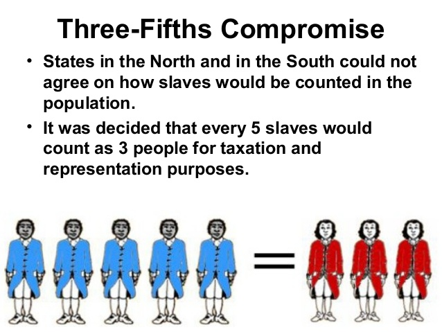 constitution three fifths