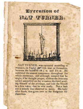 an analysis of the silent rebellion by nat turner Children of darkness when it comes to slave rebellion in the us, there is one rebellion that stands out above the rest nat turner s slave rebellion it.