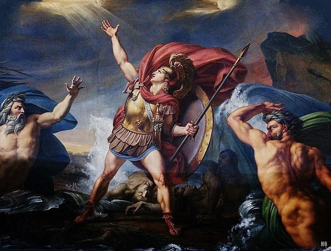 main themes in the myth of achilles In greek mythology, achilles (ancient greek: ἀχιλλεύς, akhilleus, pronounced [akʰillěu̯s]) was a greek hero of the trojan war, the central character and the later legends (beginning with a poem by statius in the 1st century ad) state that achilles was invulnerable in all of his body except for his heel.