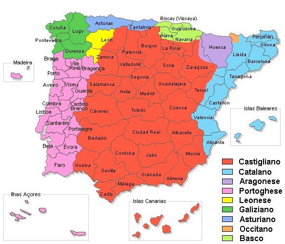 Cartina Rilievi Spagna.Ricerca Sulla Spagna