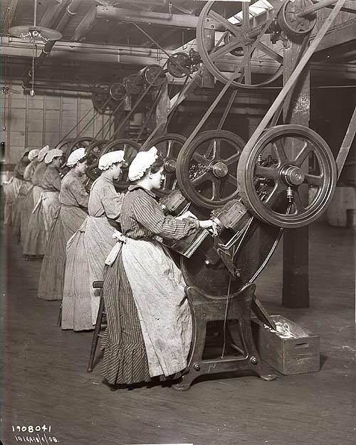 industrial revolution women